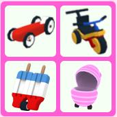Bundle   4 Rare Stroller