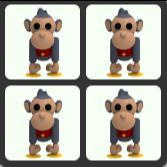 Bundle   4 Toy Monkey