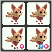Bundle   4 Kitsune