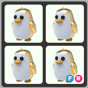 Bundle   4 Golden Penguin