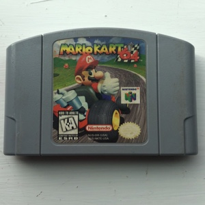 Mario Kart 64 - Tested Working/Very Good Condition