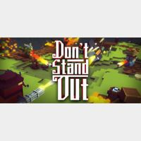 Don't Stand Out [Steam]