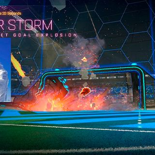Meteor Storm | Titanium White