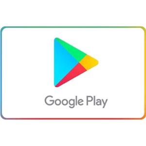 $50.00 Google Play (10$ X 5)