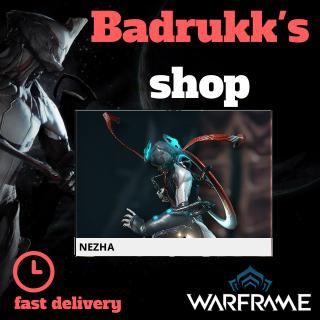 (PC) Nezha warframe + slot + reactor // Fast delivery!