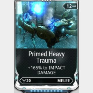 (PC) Primed heavy trauma MAXED mod (MR 2) // Fast delivery!