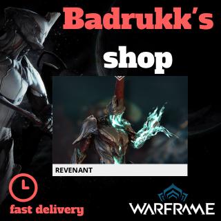 (PC) Revenant warframe + slot + reactor // Fast delivery!
