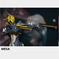 (PC) Mesa warframe + slot + reactor // Fast delivery!