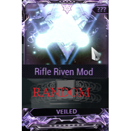 (PC) Rifle Riven mod pack X6 Veiled (MR 8) // Fast delivery!
