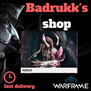 (PC) Nidus warframe + slot + orokin // Fast delivery!