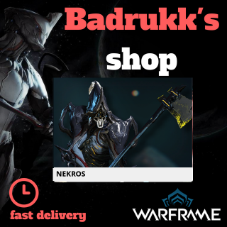 (PC) Nekros warframe + slot + reactor // Fast delivery!