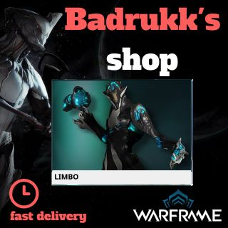 (PC) Limbo warframe + slot + reactor // Fast delivery!