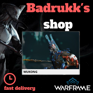 (PC) Wukong warframe + slot + reactor // Fast delivery!