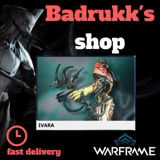 (PC) Ivara warframe + slot + reactor // Fast delivery!