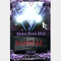 (PC) Melee Riven mod pack X6 Veiled (MR 8) // Fast delivery!