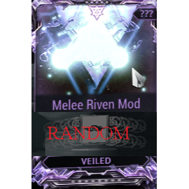 (PC) Melee Riven mod pack X6 Veiled (MR 2) // Fast delivery!
