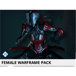 (PC) Female warframe pack // Fast delivery!