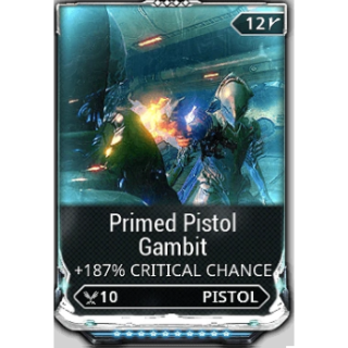 (PC) Primed pistol gambit MAXED mod (MR 2) // Fast delivery!