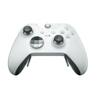 xbox elite controller white new!