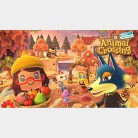 Animal Crossing: New Horizons (Nintendo Switch) Key Japan