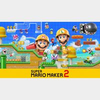 Super Mario Maker 2 (Nintendo Switch) eShop Key UNITED STATES