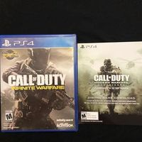 PS4 Call of Duty Modern Warfare Remastered / Infinite Warfare Playstation 4 PS4