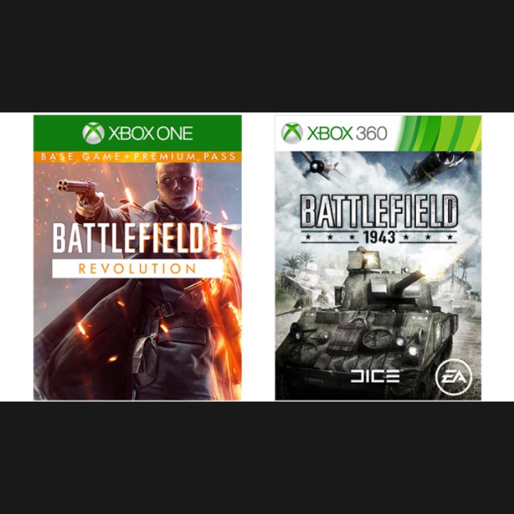Battlefield 1 Revolution & Battlefield 1943
