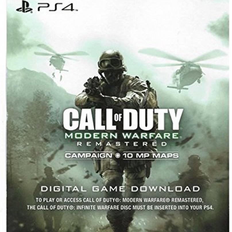 Call of duty 4 Modern Warfare Remaster code
