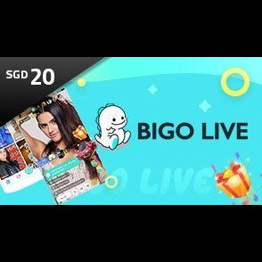 Bigo Live Diamonds SGD20