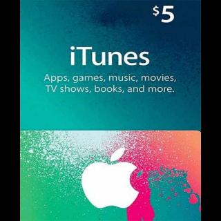 $5 iTunes ~ 𝐈𝐍𝐒𝐓𝐀𝐍𝐓