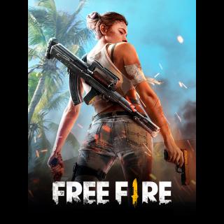 FREE FIRE 530 + 53 DIAMONDS