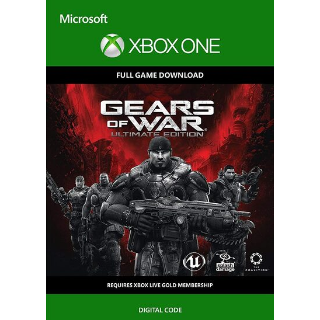 Gears of War: Ultimate Edition XBOX LIVE Key XBOX ONE GLOBAL