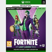 Fortnite: The Last Laugh Bundle Xbox One - United States