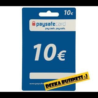 10€ paysafecard $$𝐈𝐍𝐒𝐓𝐀$$