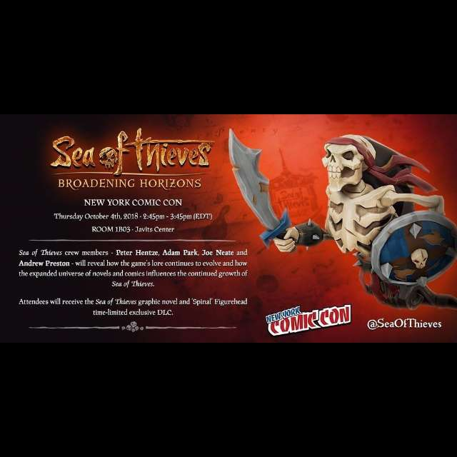 Sea Of Thieves Spinal Figurehead DLC Code XBOX ONE - Instant