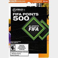FIFA 21 Ultimate Team FIFA Points 500 - PC [Online Game Code]