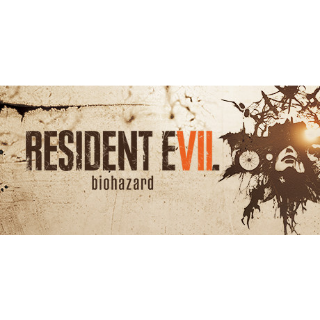 Resident Evil 7 Biohazard Global Steam Key