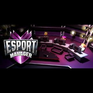 ESport Manager Global Steam Key