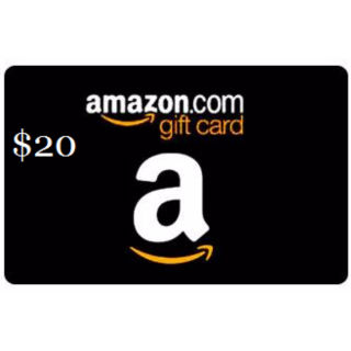 amazon 20 gift card other gift cards gameflip. Black Bedroom Furniture Sets. Home Design Ideas