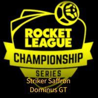 RLCS (Dominus GT) | Striker Saffron