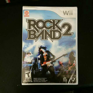 Rock Band 2 - Nintendo Wii
