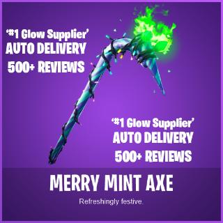 Bundle | Merry Minty Pickaxe