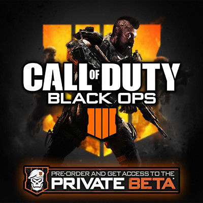 Call Of Duty Black Ops 4 Private Beta Code Key Pc Ps4 Xbox One