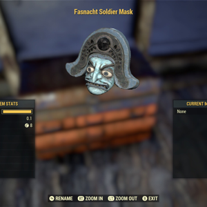 Apparel | Fasnacht Soldier Mask