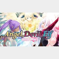 Angel, Devil, Elf and Me - HENTAI [NSFW] STEAM CD KEY