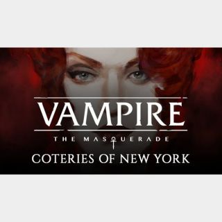 Vampire The Masquerade: Coteries of New York (Steam instant delivery)