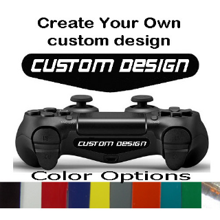 Playstation 4 PS4 Controller Personalize Custom Logo led Light Bar Decal Sticker