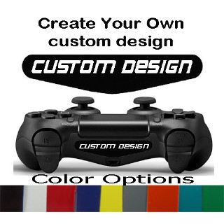Playstation 4 Controller Ligh bar Decal Custom Design Decal Sticker
