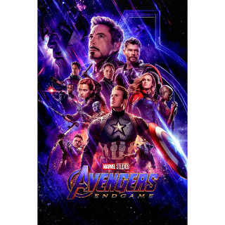 Avengers: Endgame Digital Movies Anywhere Code with Points