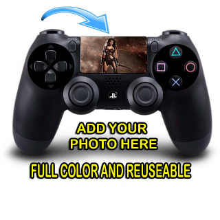 Personalized PS4 Controller Custom Lightbar and Custom Full Color Touchpad Decal Stickers (Sold as Set) with tracking